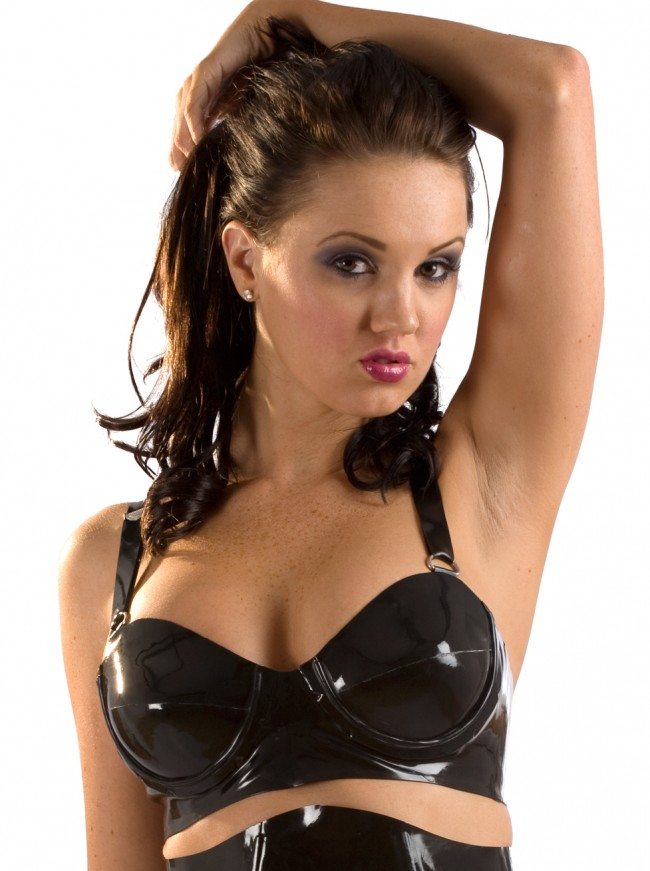 Underwired Power Latex Bra R1310_A_2