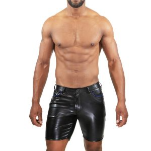 faux leather boxershort