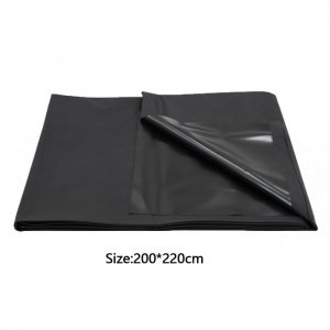 Lef Bed Sheet Cover Black