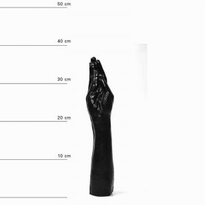 All Black Dildo Fist Black