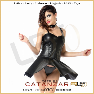 Patrice Catanzaro Poppy faux leather Jurkje VK